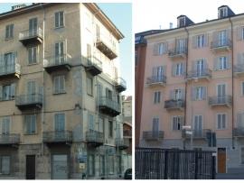 La facciata di Via Rosmini